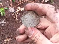 Поднятие клада серебряных рублей Видео