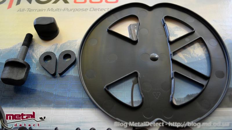 Разъем катушки для соединения с металлоискателемMinelab Equinox